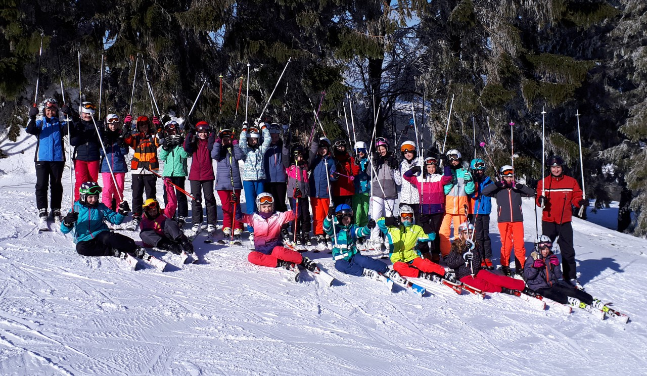 Skitage der 6. Klassen