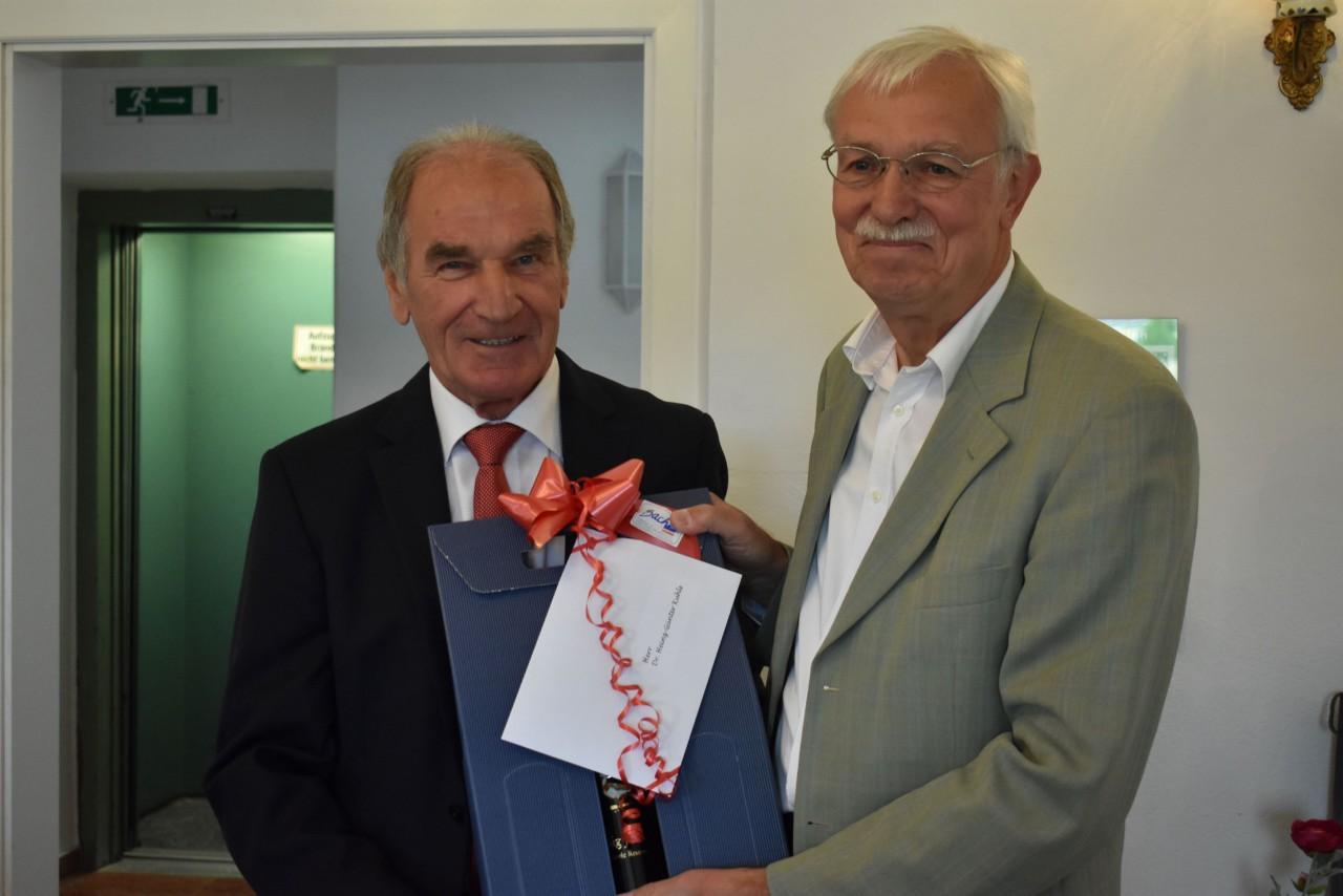 70. Geburtstag von Stiftungsratsvorsitzendem Dr. Heinz-Günter Kuhls